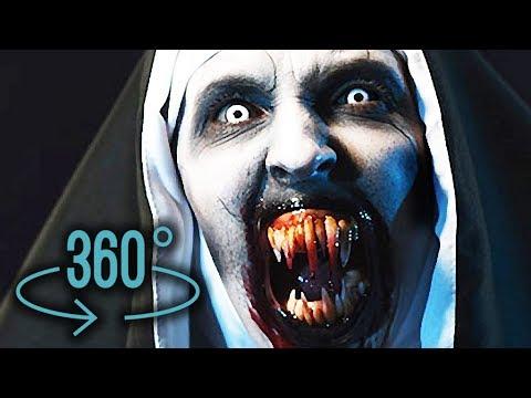VIDEO 360: SCARY NUN - Google Cardboard Horror VR Video | 360° Degree Video