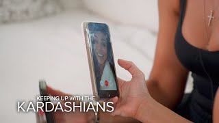 KUWTK | Kourtney Kardashian Plays Coy About Relationship Status | E!