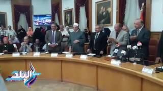 محافظ القاهرة يكرم 40 فائزا بمسابقة القرآن الكريم ..فيديو و صور