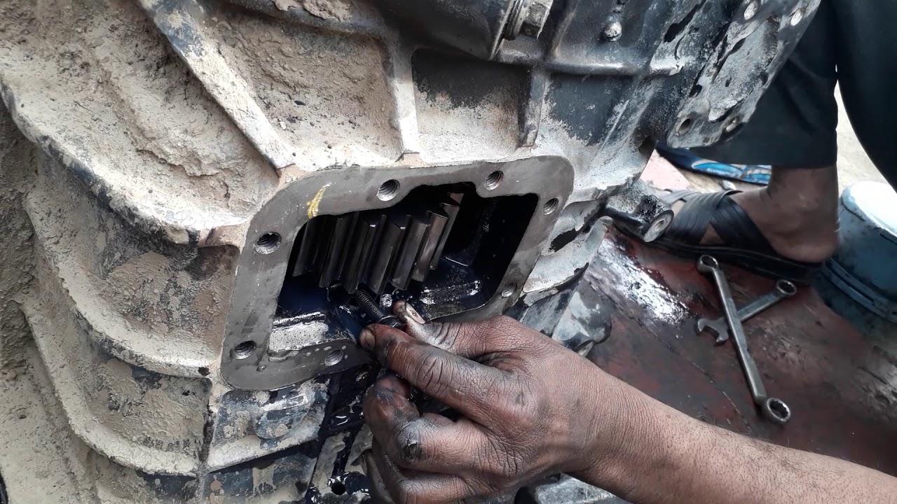 Tata 2518 9s 1150 gear box operation