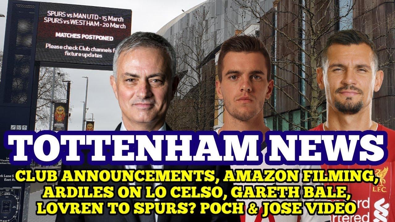 TOTTENHAM NEWS: Club Announcements, Poch & Mourinho Video, Amazon, Lovren, Ardiles on Lo Celso