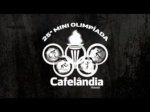 ALGUNS MOMENTOS DA 25ª MINI OLIMPÍADA DE CAFELÂNDIA