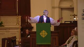 Michael Curry Preaches in Charlottesville Sept 2017