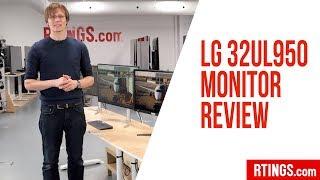 LG 32UL950 4k Monitor Review - RTINGS.com