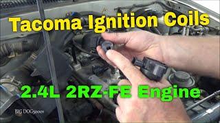 Toyota Tacoma Zündspule Ersatz 2002 Vier Zylinder, 2,4 L 2RZ Daten verantwortlich-FE (2001-2004 Ähnlich)
