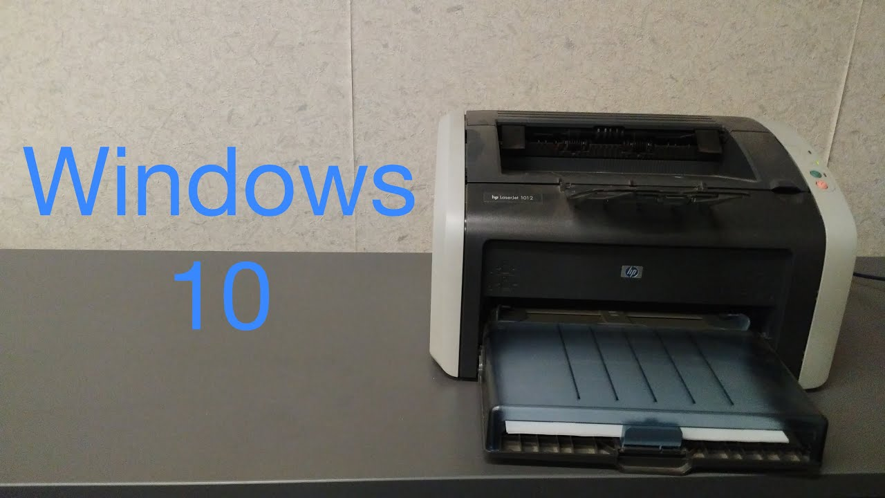 HP LaserJet 1015 (DOT4) Printer Driver Windows XP