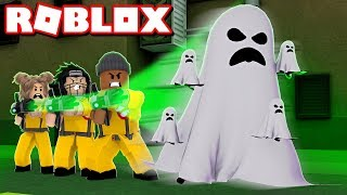 *NEW* GHOST HUNT 2018!! - Roblox Halloween