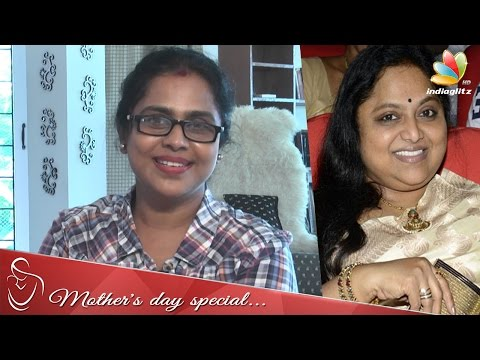 My sister Saritha opposed my film entry - Viji Chandrasekhar Interview | Azhagi Serial Actress thumbnail