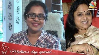 My sister Saritha opposed my film entry - Viji Chandrasekhar Interview   Azhagi Serial Actress