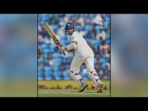 India vs NZ 3rd test : Cheteshwar Pujara scores century, India declares inning |Oneindia News