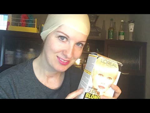YouTube Live - Bleaching my hair