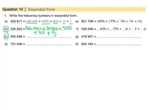 expanded form 403  12-Digit Numbers: Expanded Form - YouTube