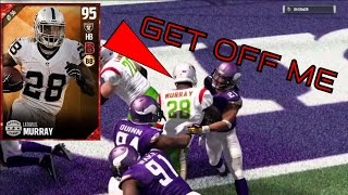 WE GOT THE NEW 95 LATAVIUS MURRAY! MADDEN 17 ULTIMATE TEAM ONLINE GAMEPLAY