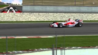 Team Panasonic Toyota Racing Toyota TF106 Jarno Trulli saison 2006