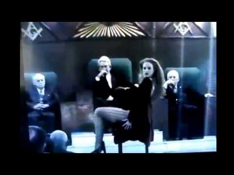 Freemason Illuminati Performance HIDDEN CAMERA   Erotic Dancer In side a Masonic Lodge