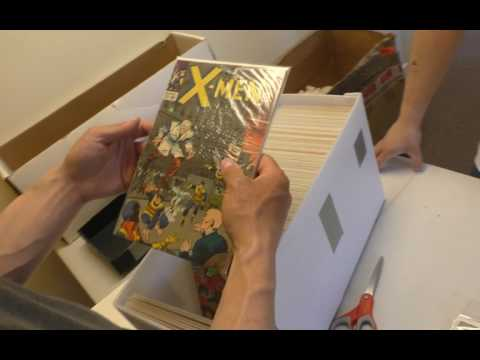 Sell My Comic Books returns with an Unboxing of Amazing Spider-Man, X-Men and more!