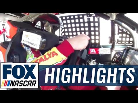 Dale Earnhardt Jr. Suffers Broken Transmission   2017 POCONO   FOX NASCAR