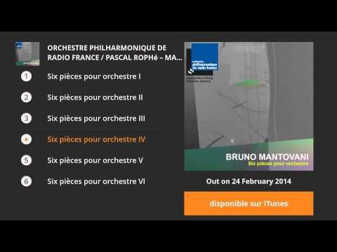 Bruno Mantovani : Six pièces pour orchestre