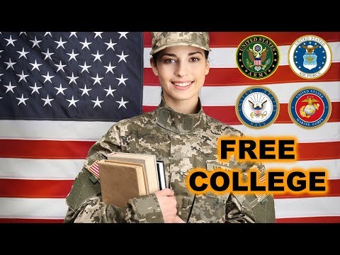 Military Tuition Assistance - Earn Your Degree For FREE While Serving