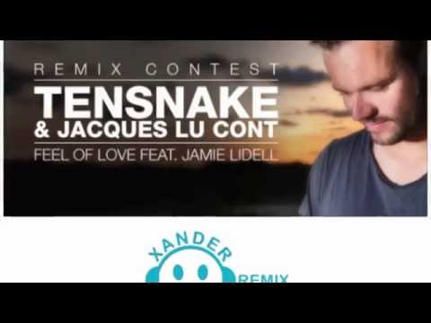 Tensnake & Jacques Lu Cont feat. Jamie Lidell - Feel Of Love (Xander James Remix) [Promo Video]