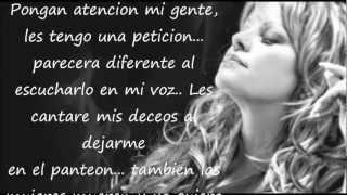 Jenni Rivera - Cuando Muere una Dama (con letra) -