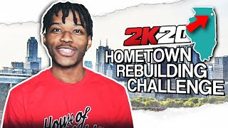 this rebuilding challenge is ONLY for exclusive nba players in nba 2k20