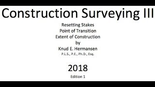 Construction Surveying III