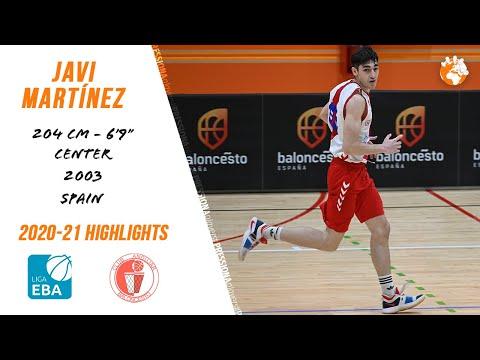 Javi Martínez ('03) 2020-21 Highlights Liga EBA CB Andújar