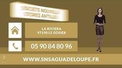 Menuiseries aluminium - Le Gosier (Guadeloupe) - S.N.S.A : SOCIETE NOUVELLE STORES ANTILLES