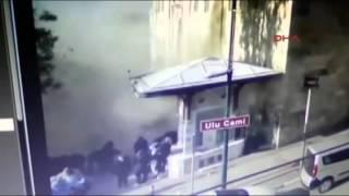 Bursa Heykel Ulucami'de patlama anı