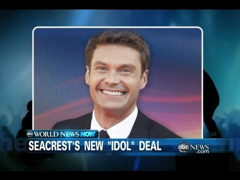 "Ryan Seacrest Renewed for ""American Idol"""