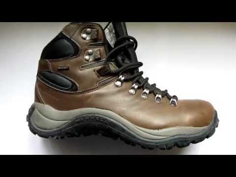 9367ed71 Merrell Reflex II Mid Leather Waterproof walking boot visual review -  bemutató - YouTube