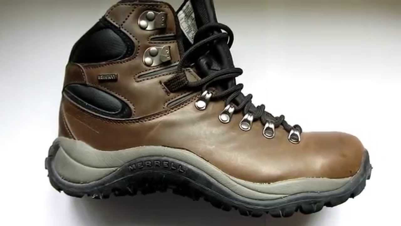 e8dab133bdb Merrell Reflex II Mid Leather Waterproof walking boot visual review -  bemutató