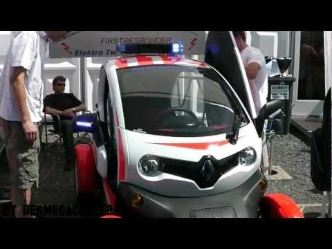 First Responder Elektro Renault Twisy Rettmobil 2012