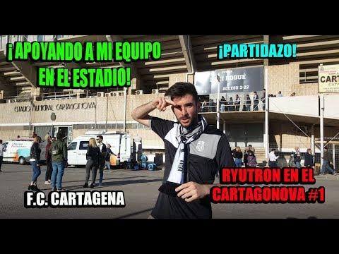 [VLOG] - #1 - VOY AL ESTADIO A APOYAR A MI EQUIPO - F.C. Cartagena - Ryutron en Cartagonova
