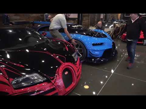 How a Bugatti vision gt is transported