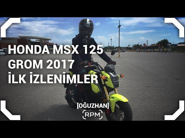 Honda MSX 125 - Grom - İlk İzlenimler [RPM]
