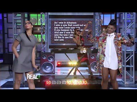 It's a Tongue Twista Rap Battle with Ta'Rhonda Jones!