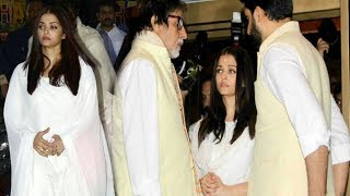 Aishwarya Rai Gets EMOTIONAL During Rani Mukherjee's Father's Prayer Meet