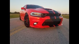 I LOWERED MY 2019 CHARGER SCAT PACK ON H&R SPRINGS |  FATKAT