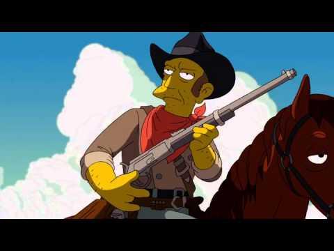 Simpson Seymour Skinner Als Django Xd