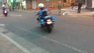 【青バイ】ブルースカイの青バイは大阪でも数台よ。西成署の前で目撃だわー 青バイ 検索動画 10