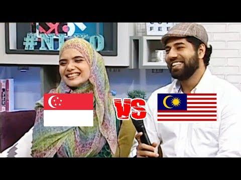 Bahasa Melayu Malaysia vs Bahasa Melayu Singapura
