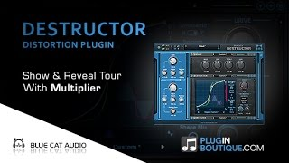 Destructor Distortion Plugin By Blue Cat Audio - Show Reveal With Multiplier