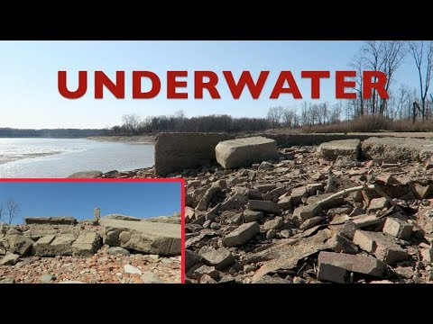 Epic Ghost Town Abandoned Underwater Revealed!