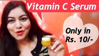 DIY Vitamin C Glow Serum for Fair, Glowing, Spotless Skin | JSuper Kaur