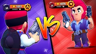 CryingMan VS Zhar - The Two Colt Gods! - Brawl Stars