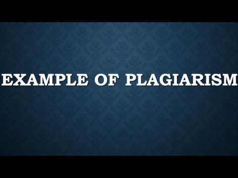 Plagiarism  The Basic Definition 1