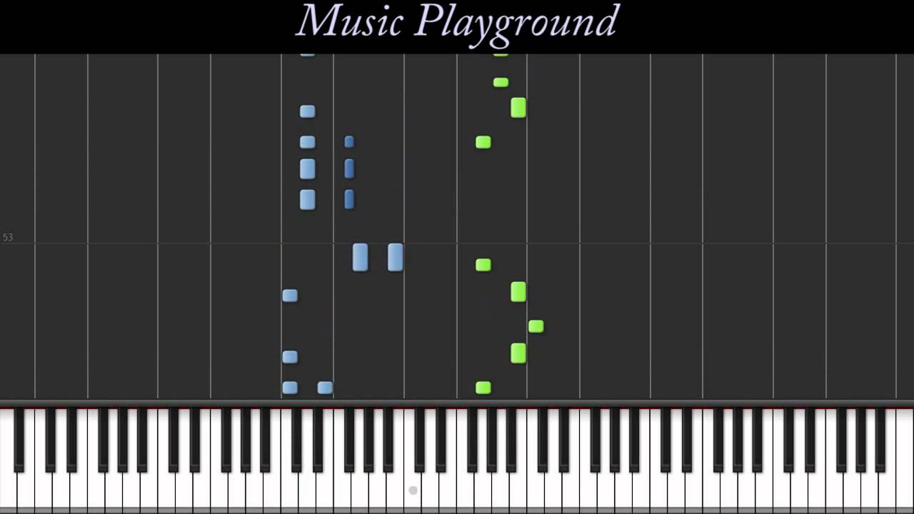 """59 Carly Rae Jepsen """"Call Me Maybe"""" (Piano Tutorial) Normal Speed"""