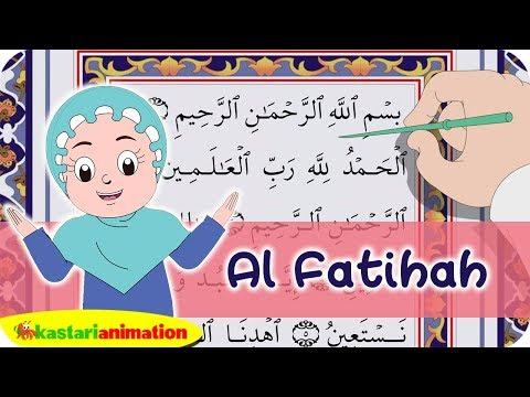 Al Fatihah dan Terjemahan | Juz Amma Diva | Kastari Animation Official